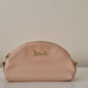 Used Harrods make up bag